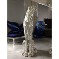 Gold and Silver Mosaic Leopard art Crafts thumbnail image