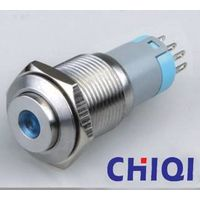 16mm stainless steel push button switch with led light