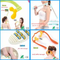 2015 New Products personal Oval Foot Massager with 10 ratation roller