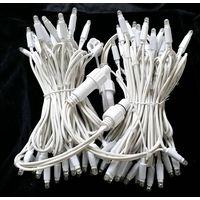 240V LED rubber cable string light  IP44