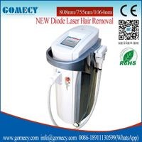 New technology 755nm diode laser module 808nm diode laser device 1064nm diode laser hair removal ge