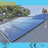 Best price photovoltaic energy home roof solar panel mounting system