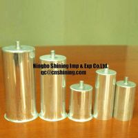 aluminum film capacitor can / shell / cover