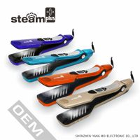 ew year gifts bella fast steam pod hair straightener brush for personal care