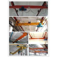 LDA model electric single girder overhead travelling crane