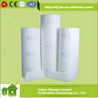 High Efficiency Net Backing White or Blue Ceiling Filter Roof Air Filter for Auto Spray Paint Booth