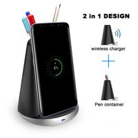 fast fwireless charger with pen holder