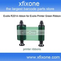 High Quality Evolis R2014 ribbon for Evolis Printer Green Ribbon From Xfixone Store thumbnail image
