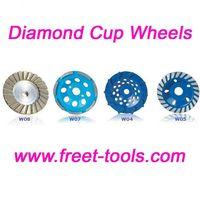 Diamond grinding wheels and discs