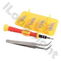 High Quality 20 Piece Repair Multi Functional Screw Driver Set Tools NO.8822