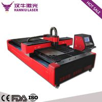 300W High speed stainless sheet fiber laser metal cutting machine