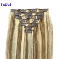 Best Selling cuticle aligned hair extensions wholesale,remy hair extensions clip in hair extension thumbnail image