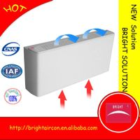 horizontal unconcealed installation hydraulic fan coil