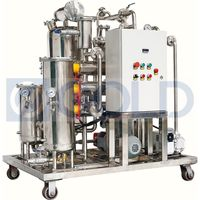 KYJ Vacuum Type Fire-Resistant Oil Treatment Plant