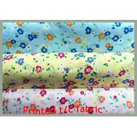 Printed polyester/cotton fabric 45sx45s 110x76 150cm