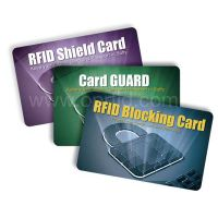 RFID blocking cards