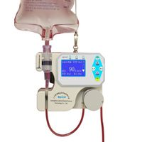 UPR-100 infusion pump with warming system