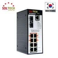Industrial PoE Switch, 10/100/1000Mbps 8 UTP Ports with 100/1000/2.5Gbps 2 SFP Slots, Maximum power thumbnail image