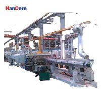 Multi-layer co-extrusion PP corrugated sheet production machine