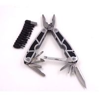 durable handle tool pliers with screwdriver bits