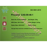 Factory supply market hot sale Procaine CAS 59-46-1 with best quality +86 19930507977