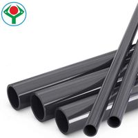 PVC pipe hard thick water plastic pipe 40 50 90 110 140 160mm China manufacturer
