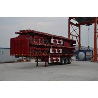 13m Three axles flat beam fence semi trailer