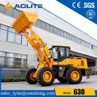 Stone bucket zl30 wheel loader 630 made in china factory for sale thumbnail image