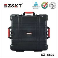 watrerproof rugged anti-shock tool case with wheels
