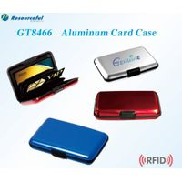 Pocket blocks RFID /water proof Aluminum ID Credit Card Case Wallet Holder Metal Box Multi color thumbnail image