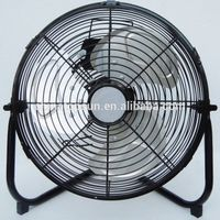 12 V DC Electric Metal 12 inch 30 cm Floor Fan