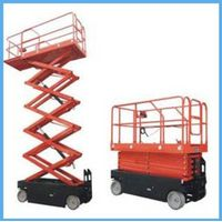 four wheels scissor lift