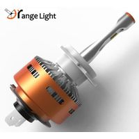 2017 Newest kind auto part orange light 36w H4/H7/H11 led headlight for car