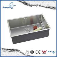 UPC Small Bowl Zero Radius undermount kitchen sink (ACS7043A1 )