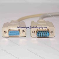 SVGA Extension Cable DB9pin Male to Female Converter Serial RS232 Extension Straight Through Cable/C