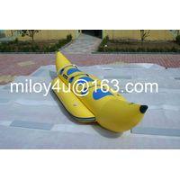 Banana water sled inflatable boat