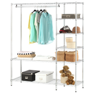 Closet Chrome Wire Shelving