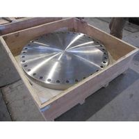 ASTM A182 F304 Blind Flanges with Flat Face, ANSI B16.47A, PN20 (150LB), DN100 (40 Inch) thumbnail image