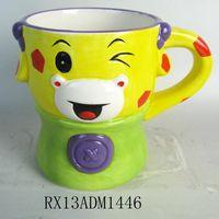 2014 NEW design high quality colorful ceramic mug with lower price.