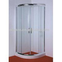 tempered safety glass shower enclosure