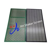 Black Color Composite King Cobra Brandt Shaker Screens For Mud Cleaner