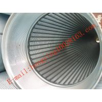 hot sale water well screen pipe /Johnson screen/wedge wire screen