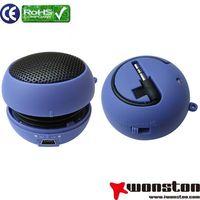 Portable mini Hamburg speaker for mobile phone/mp3/mp4