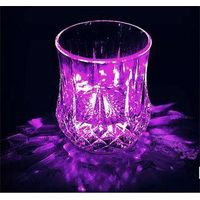 glowing cup for wine