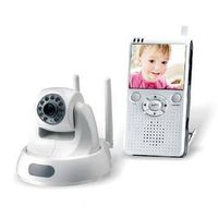 2.4G Wireless Baby Monitor - Remote Pan/Tilt