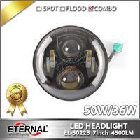7in 4x4 headlight Speakers headlamp DRL projector headlamp with halo PAR56 for Wrangler JK CJ YJ TJ thumbnail image
