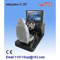 26 inch display auto simulator machine