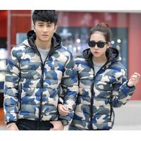 Fashion Militray Camouflage Cotton Padded clothes Hoody Jacket