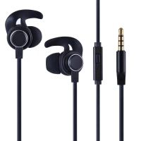 OKU-616 Heavy Bass Sound Stereo In-ear winged earphone forSport ,With Wired Control And Noise-cancel
