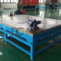 Cast iron surface plate/cast iron welding plate/cast iron bed plate thumbnail image